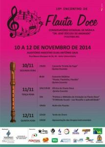 Encontro de flauta doce em Ituiutaba