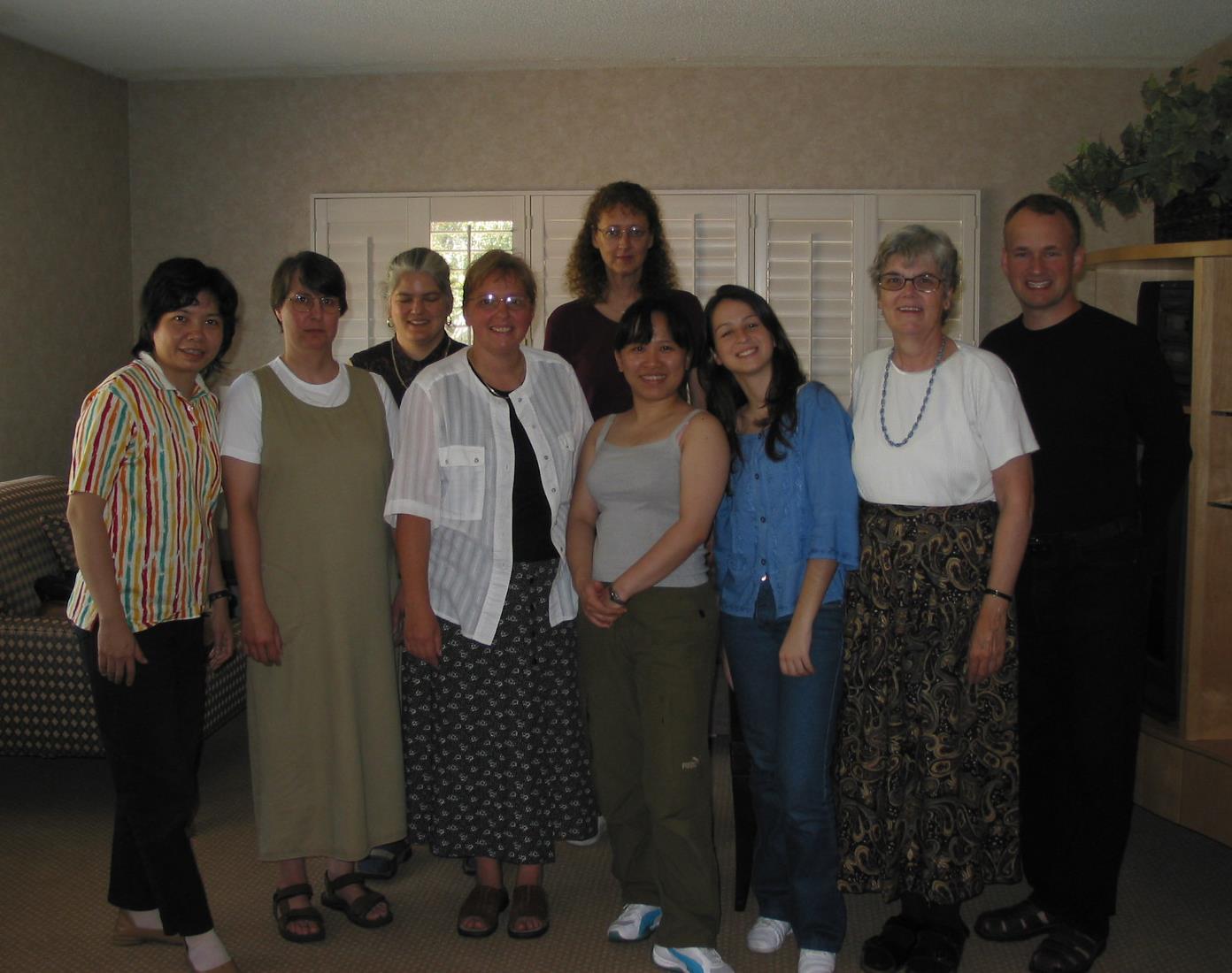 Renata e Katherine White teacher trainer